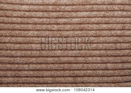 Brown Woolen Texture