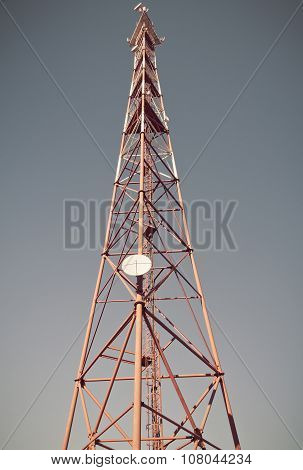 Telecommunication mast TV