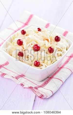 Pickled Cabbage With Cranberries