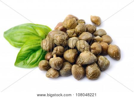 Capers Vegetables With Basil