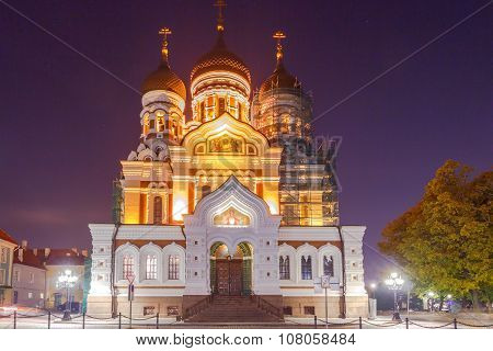 Tallinn. Alexander Nevsky Church.