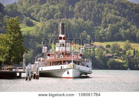 The Passenger Tourist Steam Boat.