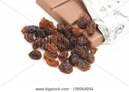 Chocolate And Some Raisins