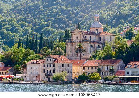 Church Of Nativity Of The Virgin, Prcanj, Kotor Bay, Montenegro