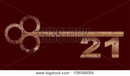 Dirty Copper 21 Key