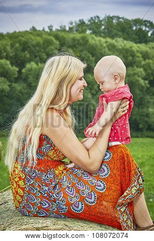 Woman With Toddler
