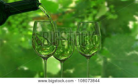Wine Glass Screen