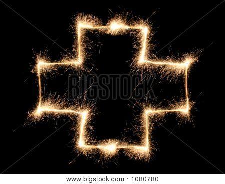 Cross Sparkler