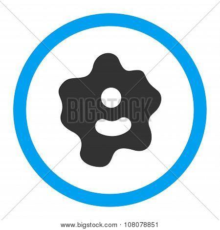 Ameba Rounded Glyph Icon