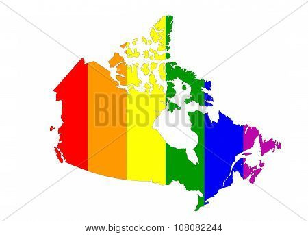 Canada Gay Map