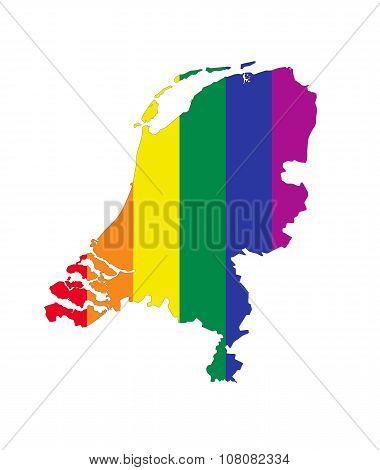 Netherlands Gay Map