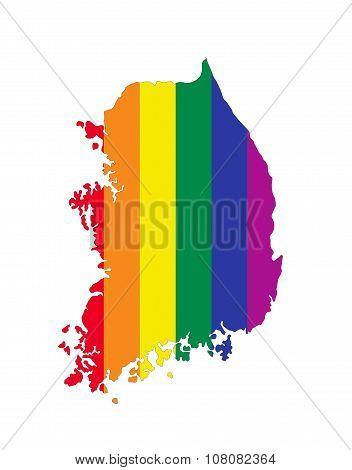 South Korea Gay Map