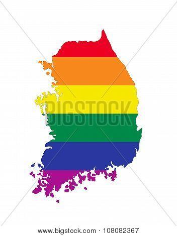 south korea country gay map