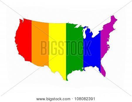 Usa Gay Map