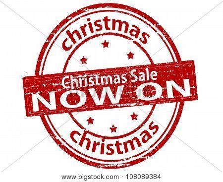 Christmas Sale Now On