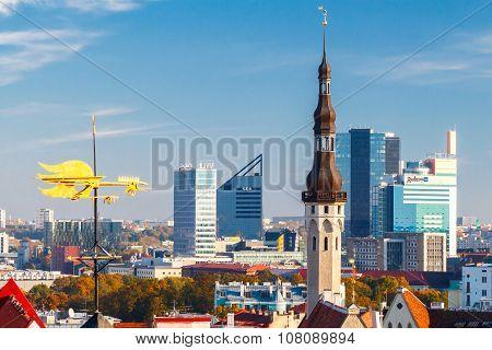 Tallinn. Old city.