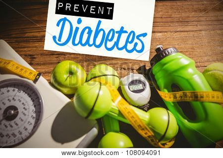 Prevent diabetes against indicators of healthy lifestyle
