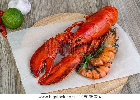 Lobster And Shrimps