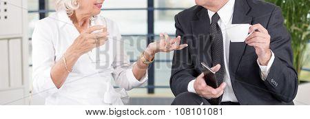 Elegant People Talking