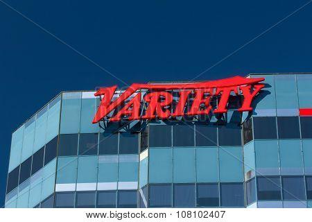 Variety Magazine Los Angeles Headquarters