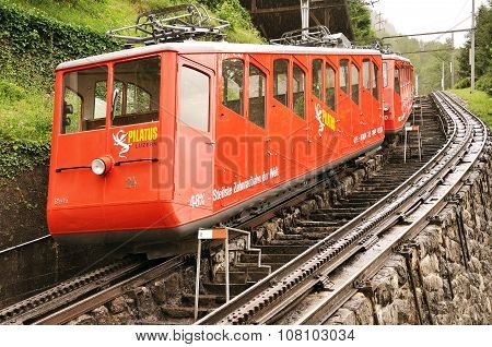 Funicular Railway Train.