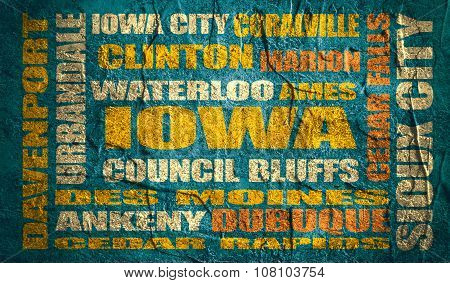 iowa state cities list