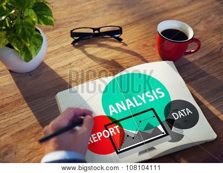 Analysis Analyze Analyzing Business Information Concept
