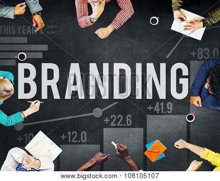 Branding Marketing Advertising Copyright Trademark Concept