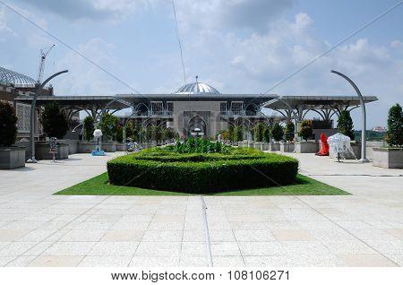 Tuanku Mizan Zainal Abidin Mosque a.k.a. The Steel Mosque in Putrajaya
