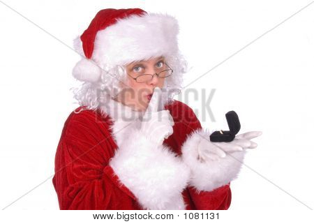 Mrs. Claus Peeked At A Ring