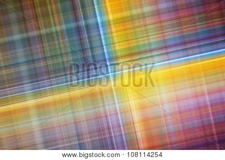 Abstract Background With Colorful Blurred Stripes