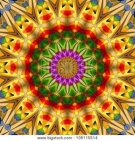 16 Elements Kaleidoscope