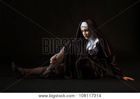 Sexy Young Nun
