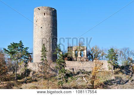 Royal Gothic Castles Zebrak And Tocnik, Central Bohemian Region, Czech Republic, Europe