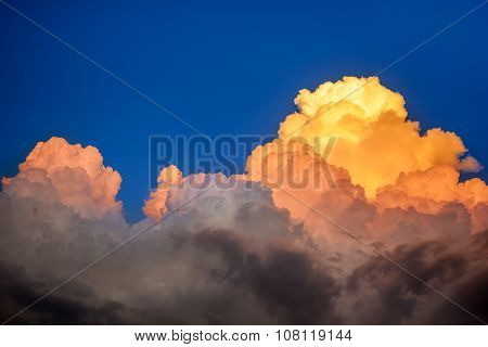 Different Colored Clouds