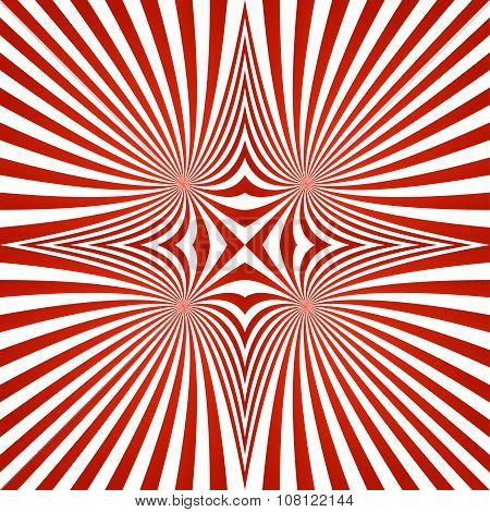 Red repeating swirl pattern background