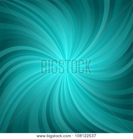 Dark cyan twirl pattern background