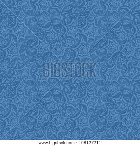 Azure seamless asymmetric star pattern background