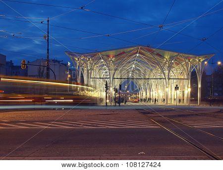 Nightlife city of Lodz ..