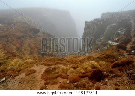 mountain pit