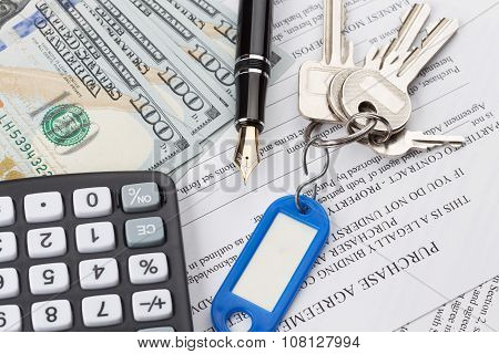 Purchase Contract With The Keys