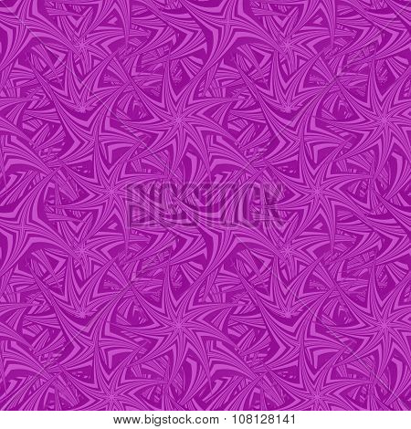 Purple seamless spin star pattern design background
