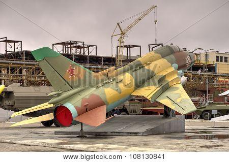 Russian Fighter-bomber Su-17