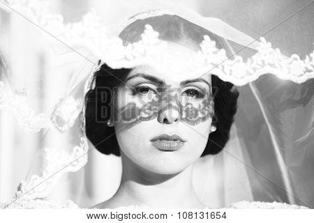 Sensual Bride Outdoor