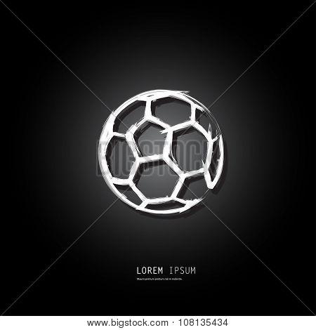 Soccer Ball Design Easy All Editable