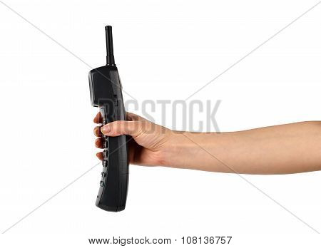 Hand With Telephone