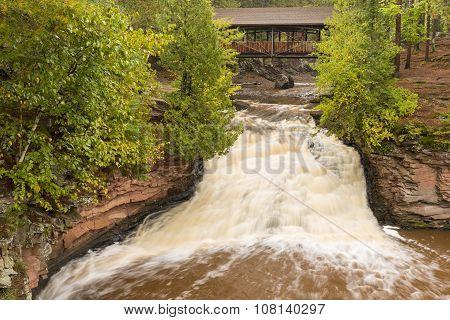 Amnicon Lower Falls & Bridge