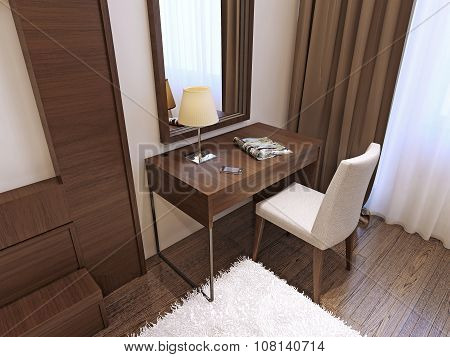 Dressing Table In Modern Style