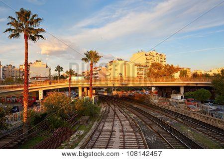 Metro of Athens.