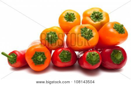 Pyramid of peppers